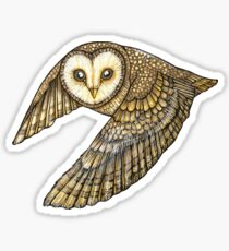Silent Wings Sticker