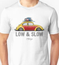 Beetle Low & Slow (yellow) Unisex T-Shirt