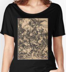 Albrecht Dürer or Durer The Four Horsemen Women's Relaxed Fit T-Shirt