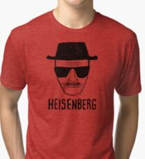 HEISENBERG - BREAKING BAD - WALTER WHITE  Tri-blend T-Shirt