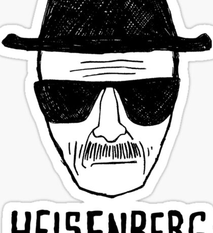 HEISENBERG - BREAKING BAD - WALTER WHITE  Sticker