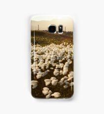 Cotton Grass Samsung Galaxy Case/Skin