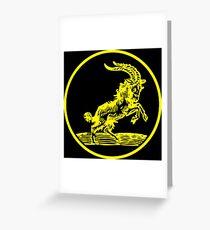 666 Goat - Black Phillip Greeting Card