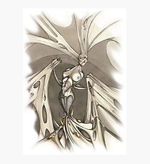 Gothic Demon Asphyxiation  Photographic Print