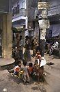 Dhaka Children by Werner Padarin