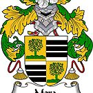 Mora Coat of Arms/ Mora Family Crest by William Martin