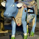 Cow Parade - Shirt Factory Horn, Derry by George Row