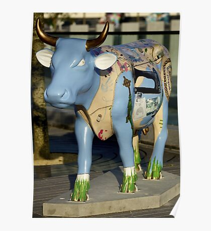 Cow Parade - Shirt Factory Horn, Derry Poster