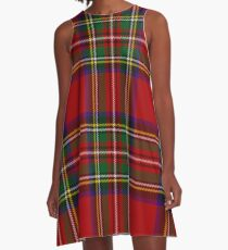 Tartan A-Line Dress