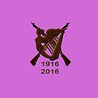 1916 Irish republic 2016  by Declan Carr