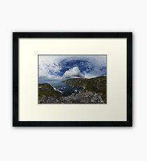 Bunglas - Highest Sea Cliffs in Europe? Framed Print