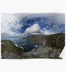 Bunglas - Highest Sea Cliffs in Europe? Poster