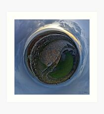 Winter Solstice Dawn over Grianan, Donegal, Ireland Art Print