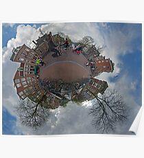 Bridge over Prinsengracht (at Prinsenstraat), Amsterdam Poster