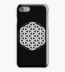 Flower Of Life - White iPhone Case/Skin