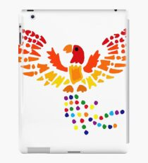 Cool Artsy Fun Colorful Phoenix Rising from Ashes iPad Case/Skin