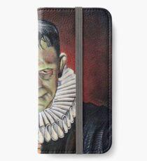 Renaissance Victorian Portrait - Frankenstein iPhone Wallet/Case/Skin