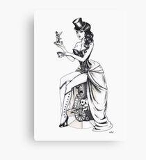 Burlesque circus Canvas Print