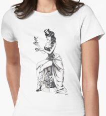 Burlesque circus Womens Fitted T-Shirt
