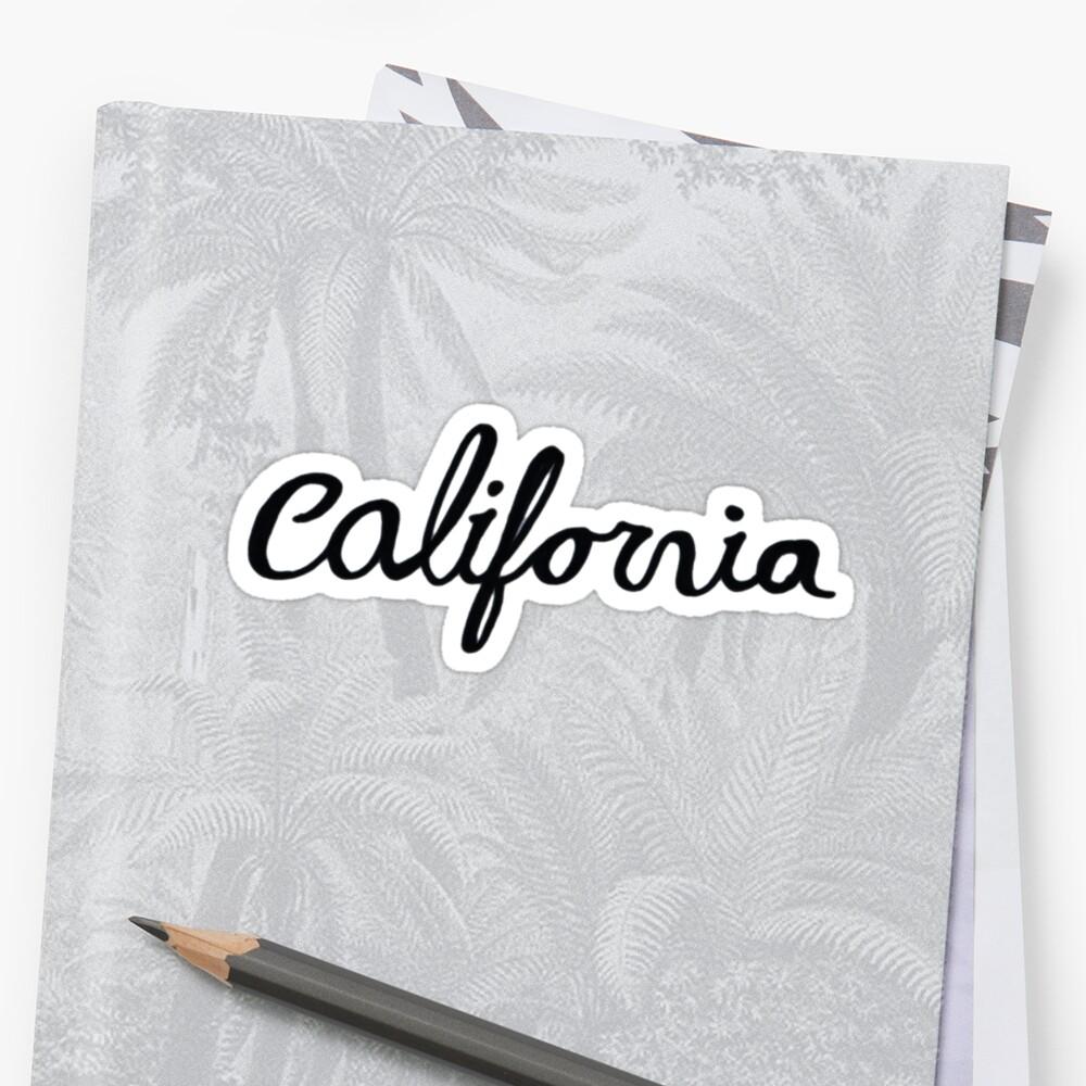 California Pegatina