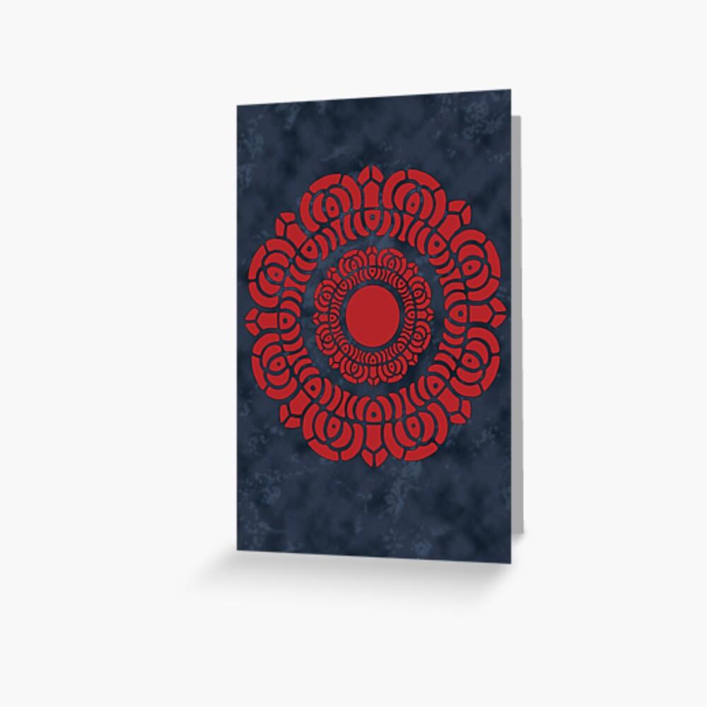 Legend of Korra - Red Lotus Greeting Card