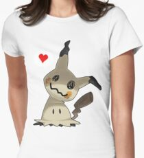 Mimikyu Womens Fitted T-Shirt
