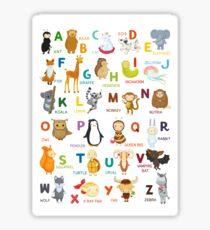 English ABC Sticker