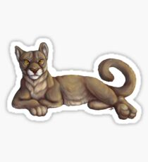 Yuma Puma Sticker