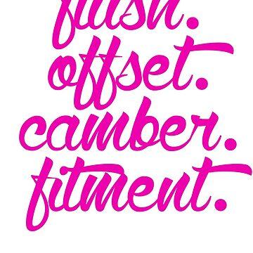 flush offset camber fitment (7) by PlanDesigner