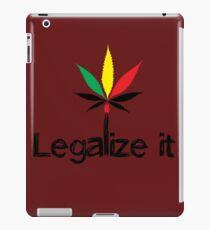 legalize it iPad Case/Skin