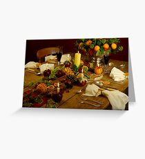 Festive Table Greeting Card