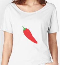 Red Chili Pepper Women's Relaxed Fit T-Shirt