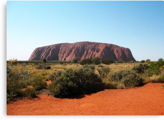 Uluru, Northern Territory by Michael John