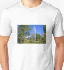 Centenary Fountain, Forde Abbey Unisex T-Shirt