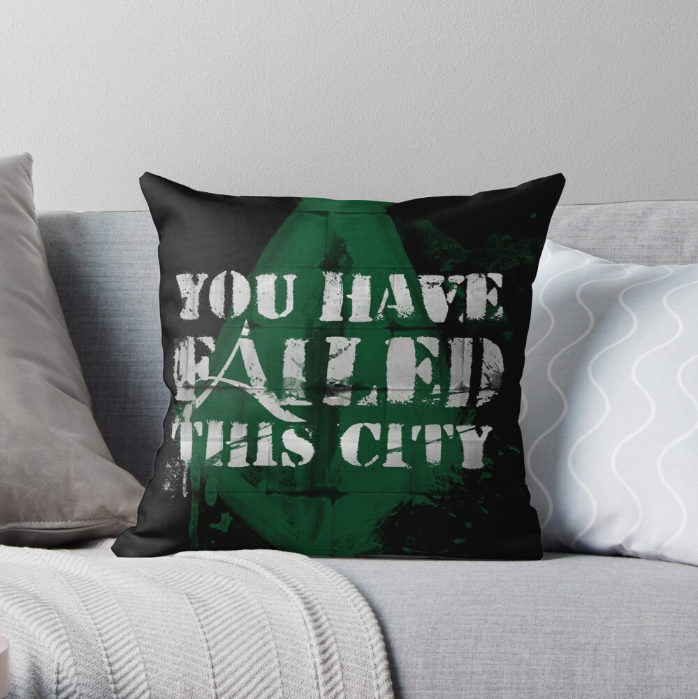 You have failed this city! Throw Pillow