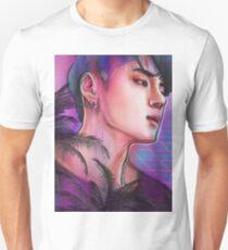 H Δ L F M O O N | DΞΔN  Unisex T-Shirt