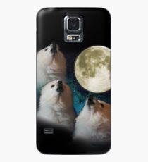 Gabe der Hund - Drei Gabe Moon Hülle & Klebefolie für Samsung Galaxy