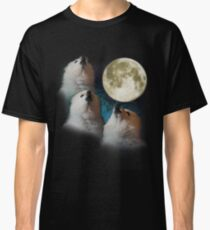 Gabe the Dog - Three Gabe Moon Classic T-Shirt
