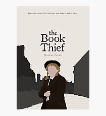 The Book Thief Photographic Print