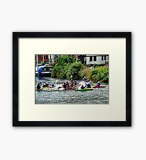 Wacky Races............. Framed Print