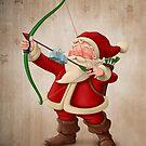 Santa Claus archer by jordygraph
