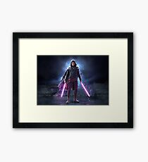 Onoro Zarezsh, The Grey Jedi Framed Print