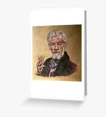 Sir Ian McKellen  Greeting Card