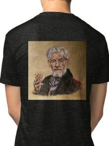 Sir Ian McKellen  Tri-blend T-Shirt