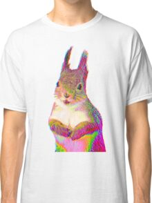 Psychedelic Squirrel Classic T-Shirt