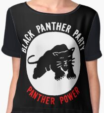 THE BLACK PANTHER PARTY Chiffon Top