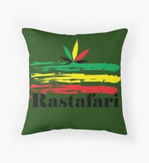 rasta Throw Pillow
