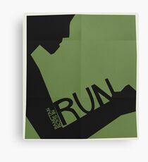 HYYH pt.2 x Saul Bass - Run Canvas Print