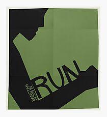 HYYH pt.2 x Saul Bass - Run Photographic Print