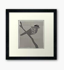 HYYH pt.2 x Saul Bass - Baepsae Framed Print